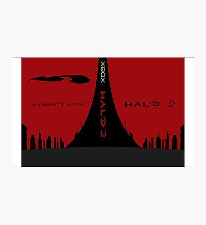 Halo 2 Custom Game Artwork Photographic Print