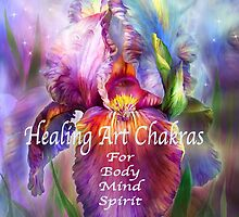 Healing Art Chakras by Carol  Cavalaris