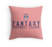 Fantasy Football Owner Throw Pillow