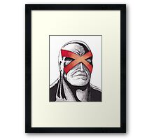Cyclops Pen and Ink Framed Print