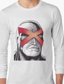 Cyclops Pen and Ink Long Sleeve T-Shirt