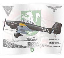 Junker Ju 87 G-1 Poster