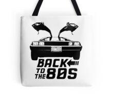 Back To The 80s Delorean  Tote Bag