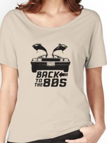 Back To The 80s Delorean  Women's Relaxed Fit T-Shirt