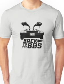 Back To The 80s Delorean  Unisex T-Shirt