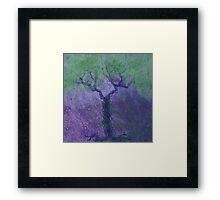 Wire Tree Framed Print