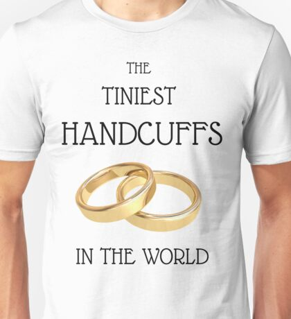 Cool Wedding T-shirts, bachelors party, best man, grooms, married couples Unisex T-Shirt
