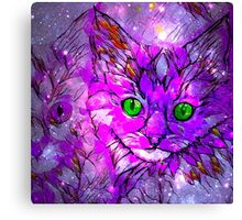 Dreaming Pink Kittens Canvas Print