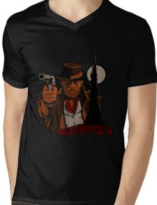 The Tower Awaits Mens V-Neck T-Shirt