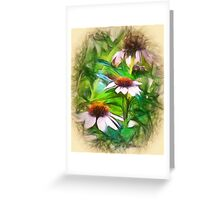 Flower Impressions Greeting Card