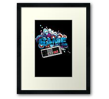 GAME Explotion Framed Print