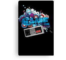 GAME Explotion Canvas Print