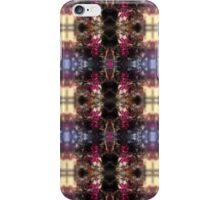 red Malus 'Radiant'  crab apple blossoms #2 light pattern iPhone Case/Skin