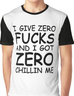 Chillin Me Graphic T-Shirt