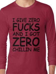 Chillin Me Long Sleeve T-Shirt