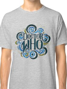 Whimsically Wibbly Wobbly Timey Wimey - Light Shirt Classic T-Shirt
