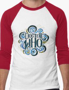 Whimsically Wibbly Wobbly Timey Wimey - Light Shirt Men's Baseball ¾ T-Shirt