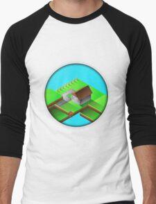 Homestead Design By Inkblot Men's Baseball ¾ T-Shirt