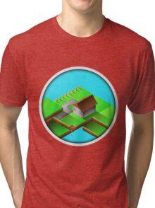 Homestead Design By Inkblot Tri-blend T-Shirt