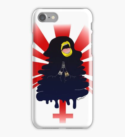 Madonna Enthroned iPhone Case/Skin