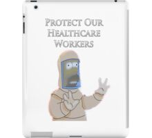 Protect Our Healthcare Workers iPad Case/Skin