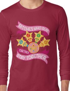 Slay Together, Stay Together - Sailor Scouts Long Sleeve T-Shirt