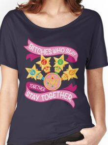 Slay Together, Stay Together - Sailor Scouts Women's Relaxed Fit T-Shirt