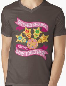 Slay Together, Stay Together - Sailor Scouts Mens V-Neck T-Shirt