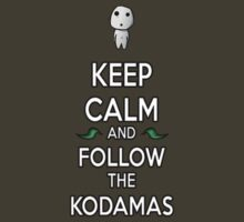 Keep Calm and Follow the Kodamas by benlaverock