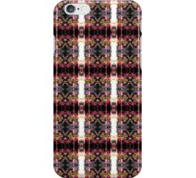 red Malus 'Radiant' crab apple blossoms #3 pattern iPhone Case/Skin