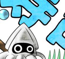 Mushroom Kingdom Squid Sushi Sticker