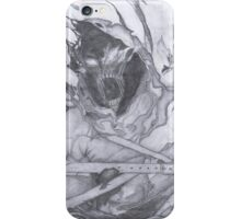 "Disturbed ""Asylum"" Pencil Sketch iPhone Case/Skin"