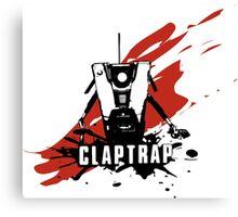 Claptrap Canvas Print
