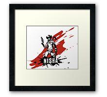 Nisha Framed Print