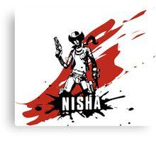 Nisha Canvas Print
