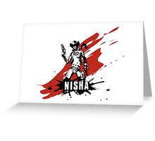 Nisha Greeting Card