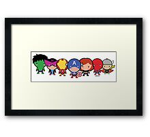 The Cute Avengers Framed Print