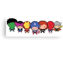 The Cute Avengers Canvas Print
