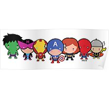 The Cute Avengers Poster