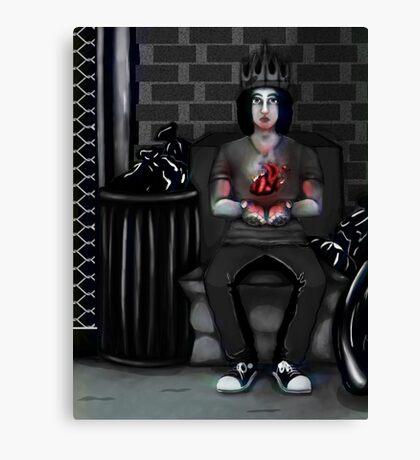 My Ashtray Heart Canvas Print