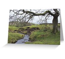 Spooky scenery  Greeting Card