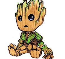 Groot by Lauren Eldridge-Murray