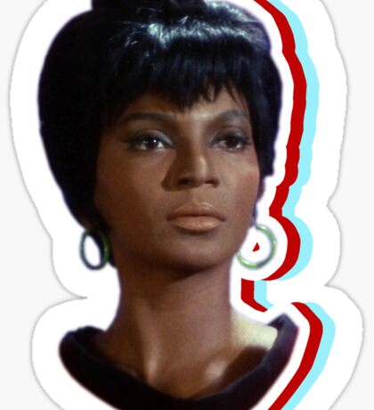 Nyota Uhura: Queen of Space Sticker