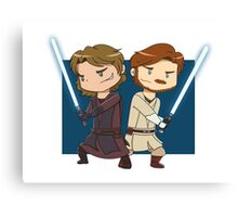 Master and Apprentice Canvas Print