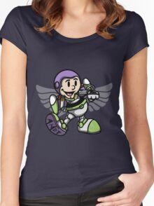 Vintage Buzz Lightyear Women's Fitted Scoop T-Shirt