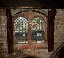 Curtained Window by DavidsArt