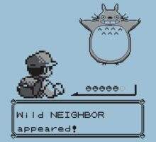 Wild NEIGHBOR appeared! Kids Tee