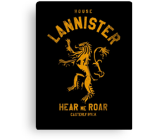 HOUSE LANNISTER 1 Canvas Print