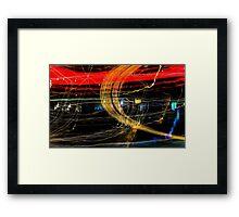 Light Streak #2 Framed Print
