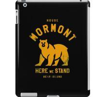 HOUSE MO iPad Case/Skin